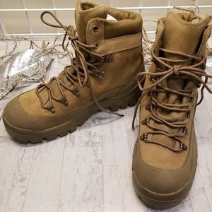 Bates Gortex Tan Vibram Sole Military Boots